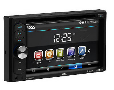 """BOSS AUDIO BV9351B Double Din 6.2"""" Touchscreen Monitor DVD/USB Player Car Stereo"""