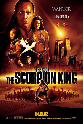 The Scorpion King (2002) original movie poster advance version B - ds - rolled