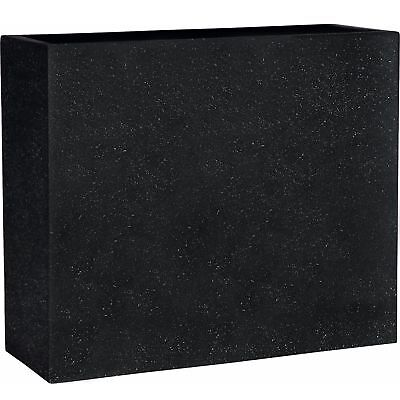 ESTERAS - PLANT Box High Smartline DALFSEN Black Stone Angular Box ...