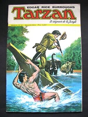Sagedition TARZAN / N° 43 / 1975