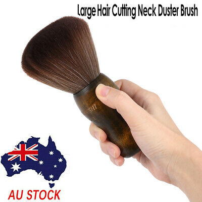 Neck Duster Sweep Brush For Salon Stylist Barber Hair Cutting Hair Removal Brush