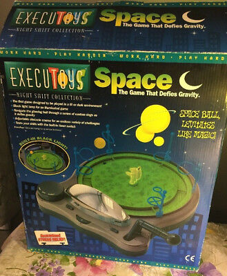 Space The Game That Devies Gravity Glowing Satellite with Black light