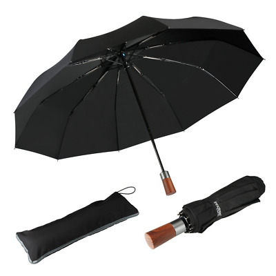 Innotree Compact Travel Umbrella Automatic Open & Close Reinforced Windproof