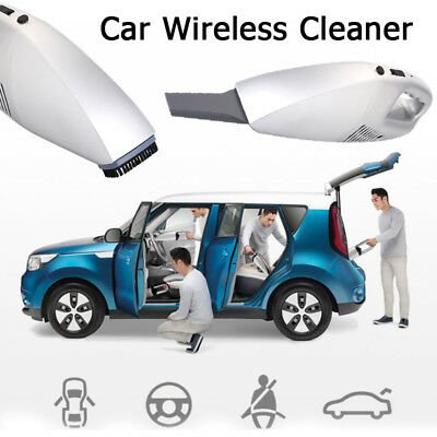 220V Car Cordless Cleaner 3.6V 60W Rechargeable Pet Hair Universal Home