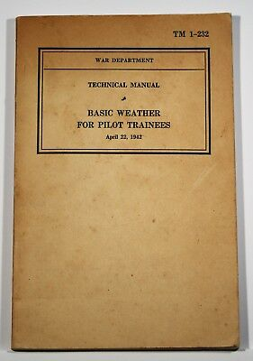 Basic Weather for Pilot Trainees - April 22, 1942 US War Dept.