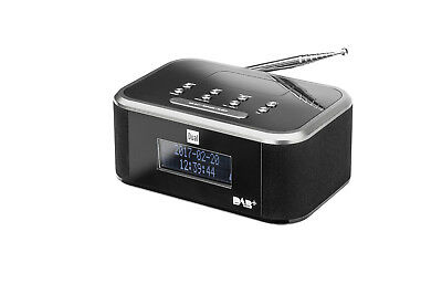 DUAL DAB CR 28 DAB(+) /UKW Stereo Radiowecker mit Snooze-Funktion und LC-Display