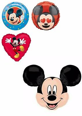 Licensed Disney Mickey Mouse Balloons Party Ware Decoration Novelty Gift Helium