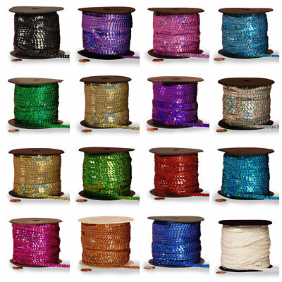 Holographic Faceted Sequins price per 5 yard select color
