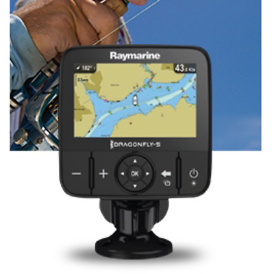 Raymarine Dragonfly 5m 5 GPS Chart Plotter and Australia & New Zealand CMAP