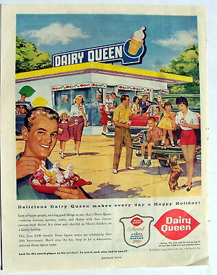 Dairy Queen Drive In ad 1960