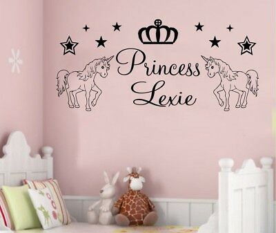 It's Not Easy Being A Princess Girls Quote Vinyl Wall Window Stickers Decal A366