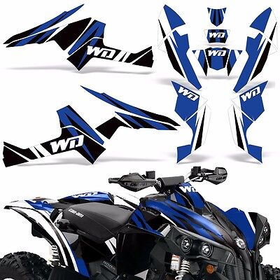 Graphic Kit CanAm Renegade X/R ATV Quad Decals Wrap Can Am 500/800/1000 Parts WD