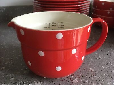 SPODE BAKING DAYS RED Cereal Bowl 6979365 - £37.50 | PicClick UK