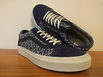 VANS OLD SKOOL (Blanket Weave) Port Royale Blanc de Blanc WOMEN S ... e35999a9a