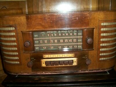 Vintage General Electric radio. short wave. Model J71. Unknown working condition