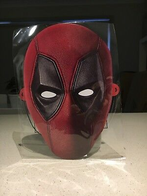 Deadpool 2 - Card Mask Premiere Promotional Marvel RARE New & Sealed!