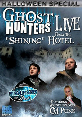 Ghost Hunters: Live from the Stanley Hotel DVD Big Vision Digital Sci-Fi Channel