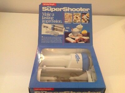 Hamilton Beach Super Shooter 80000 8 Disks Cordless Cookie Press Food Decorator