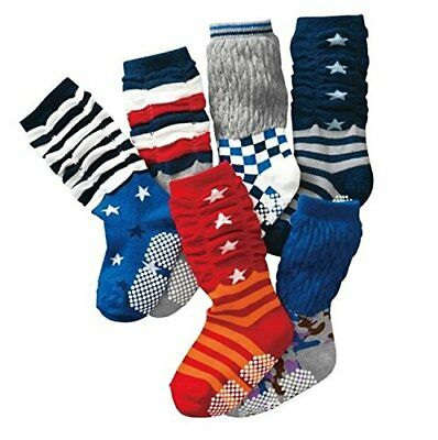 Lace Kenzola Kid Socks Stockings High Socks with Grips for Toddler Boys an..