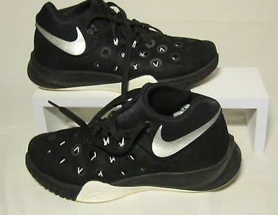 save off d8a98 09813 Mens sz 7 NIKE Zoom Lunar Hyperquickness 3 Basketball Shoes Black Sneakers
