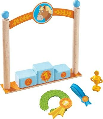 HABA Little Friends Play Set Podium doll accessories toys from 3 Jahre