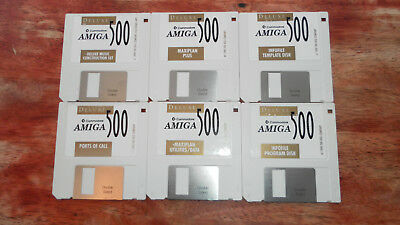 AMIGA A500 Deluxe Starter Kit Software.