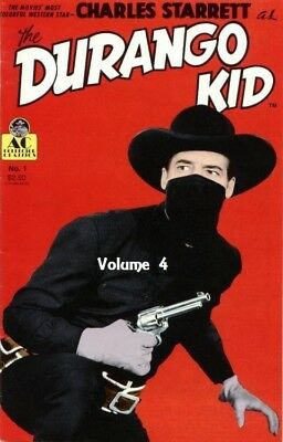 The Durango Kid ~ 8 Classic Westerns on 2 Dvd's ~ Charles Starrett ~ Vol 4