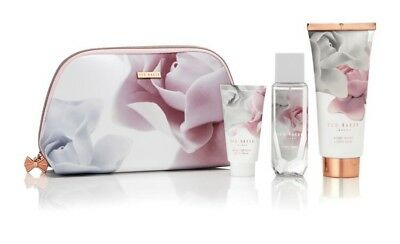 TED BAKER Cosmetic Bag PRETTY PEARLY TREATS GIFT SET MAKE UP TOILETRIES