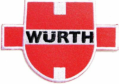 WURTH Logo Racing Patch Sew Iron on Embroidered Jacket T-shirt Cap Badge Sign