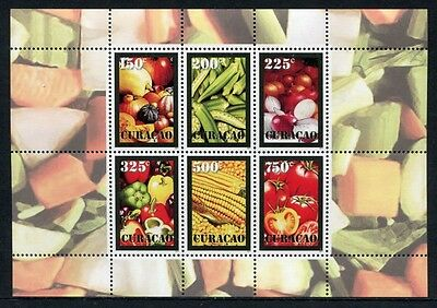 CURACAO 2011 Früchte Gemüse Fruits Vegetables ** MNH