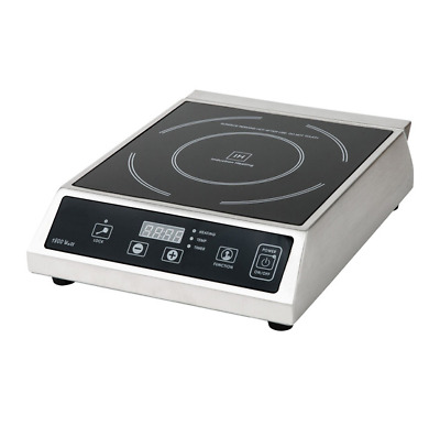 Update International 120 Volt Countertop Commercial Induction Range Ic-1800Wn