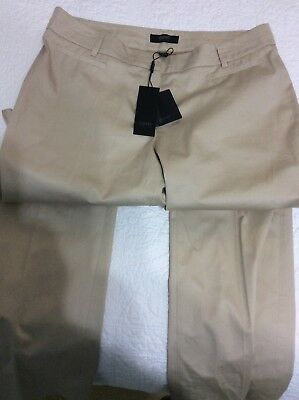 Esprit Beige Narrow Leg Pants Size 8 New with Tags