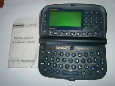 ROLODEX FRANKLIN - 1mb RF-1000- GUARD PERSONAL ELECTRONIC ORGANIZER -FREE POST