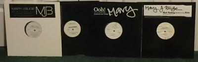 """(Lot Of 4 12"""" Singles) Mary J Blige - Ooh! + Not Today + Cant Get.. + Be Without"""