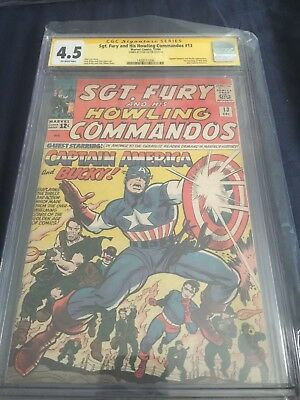 sgt. fury and his howling commandos 13