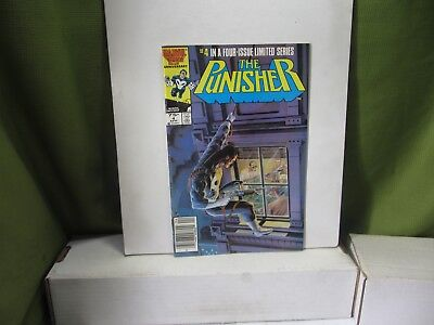Marvel The Punisher #4 of 5 Original Limited Series (1986) VF/ NM See Below