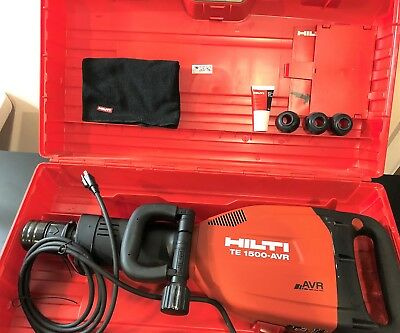 HILTI TE-1500-AVR High-Performance Demolition Hammer Low Vibration Brushless