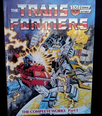 The Transformers The Complete Works Part 1 Book
