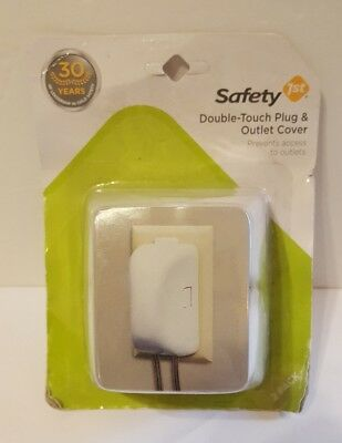 Safety 1st 2 Count White Plug 'N Outlet Covers t5