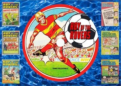 Roy Of The Rovers Comics Collection 2 On DVD Rom