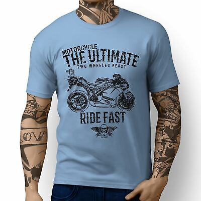 JL Ultimate Ducati 1198R Corse Special Edition Motorbike Art T-shirts