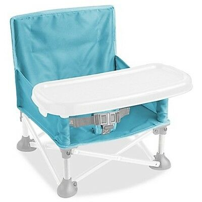 Summer Infant® Pop N' Sit Portable Booster in Aqua Baby High Chair