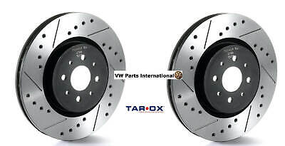 VW Golf MK3 1.9TD Hatch Tarox 239mm Solid SJ Performance Front Brake Discs