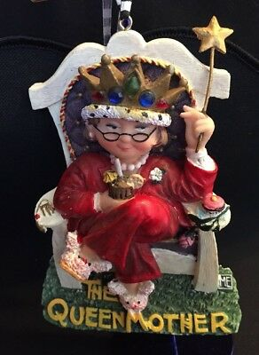 Mary Engelbreit The Queen Mother Christmas Ornament  ME Ink