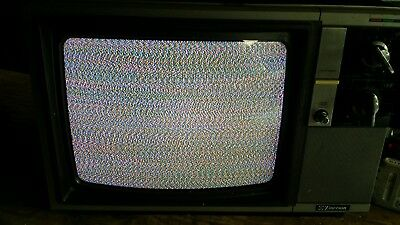 """For Repair Vintage 1988 Emerson Color 13"""" Television 1980s 80s TVTurns on"""