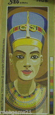 NEFERTITI - NEW Unstitched TAPESTRY by SEG de Paris, France