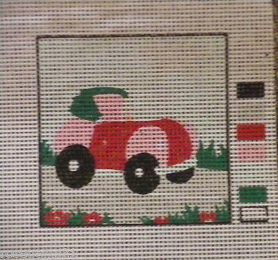 UNSTITCHED TAPESTRY~ Little Car by CDArt (New)