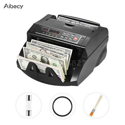 Money Bill Currency Counter Counting Machine Counterfeit Detector UV MG DD D7J8