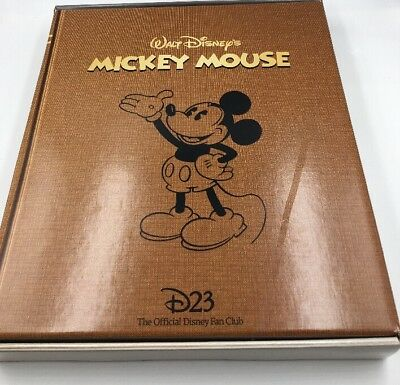 New Disney D23 2018  Gold Membership Mickey Mouse Vintage Replica Collectibles