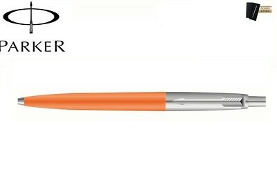 Parker Jotter Standard Ball Pen Orange Barrel Chrome Trim New with Gift Box